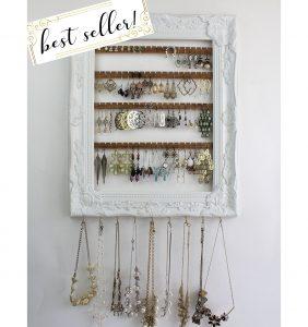 Add necklace hooks or a bracelet bar