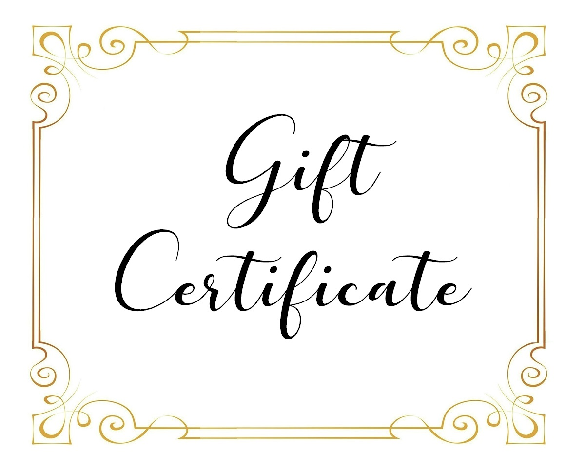 Gift certificate 1200