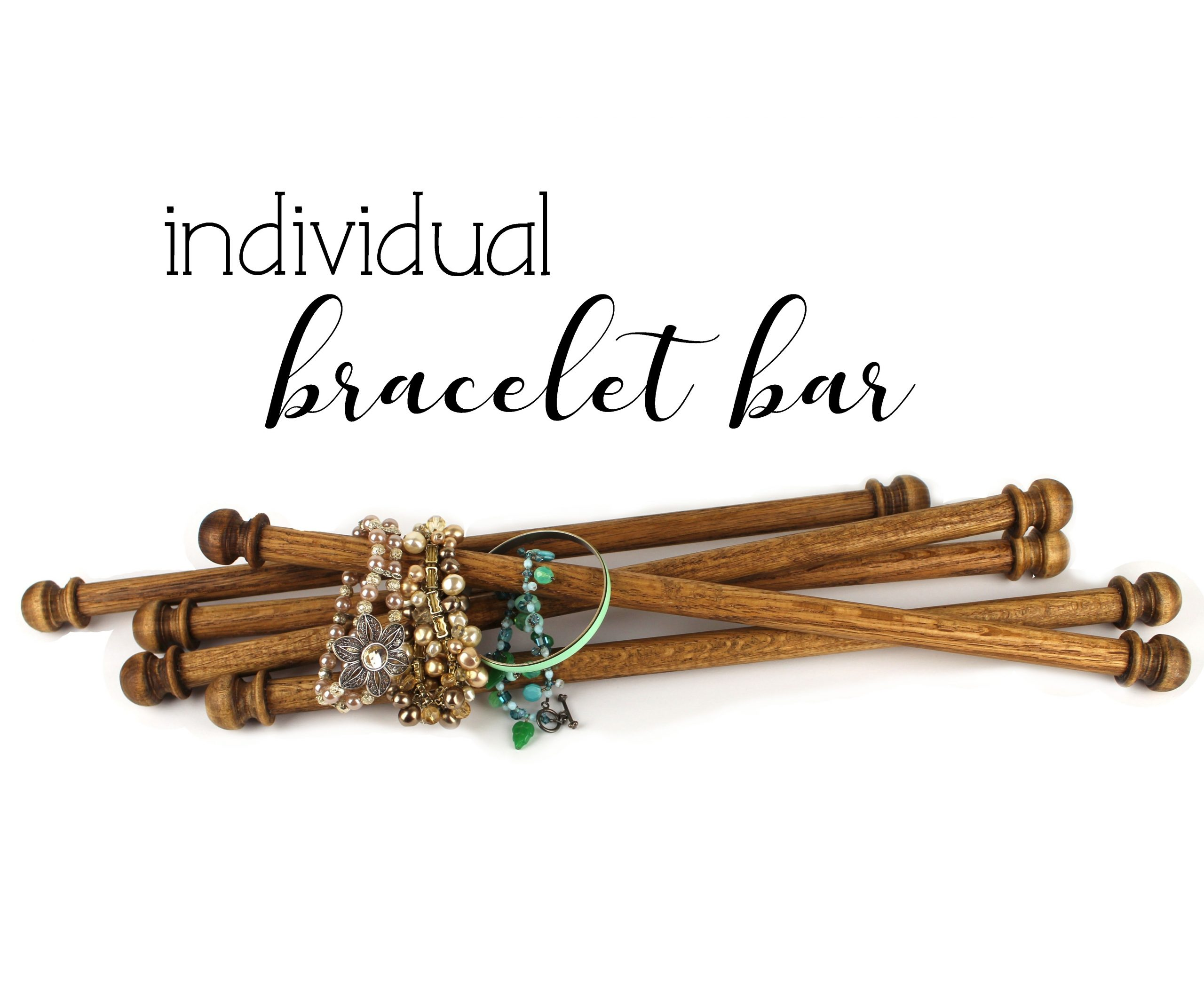 wood bracelet bar