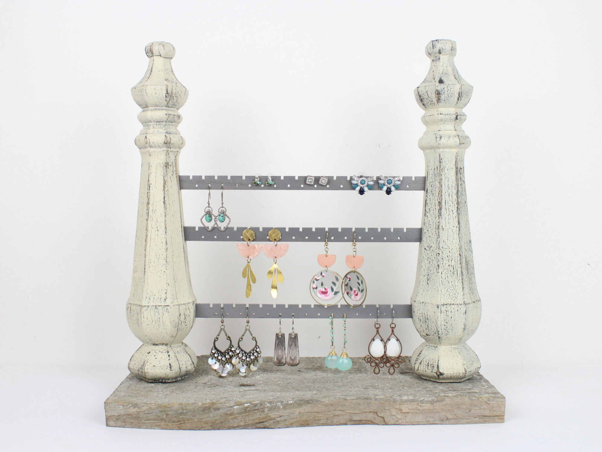 Vintage Spindle Earring Stand
