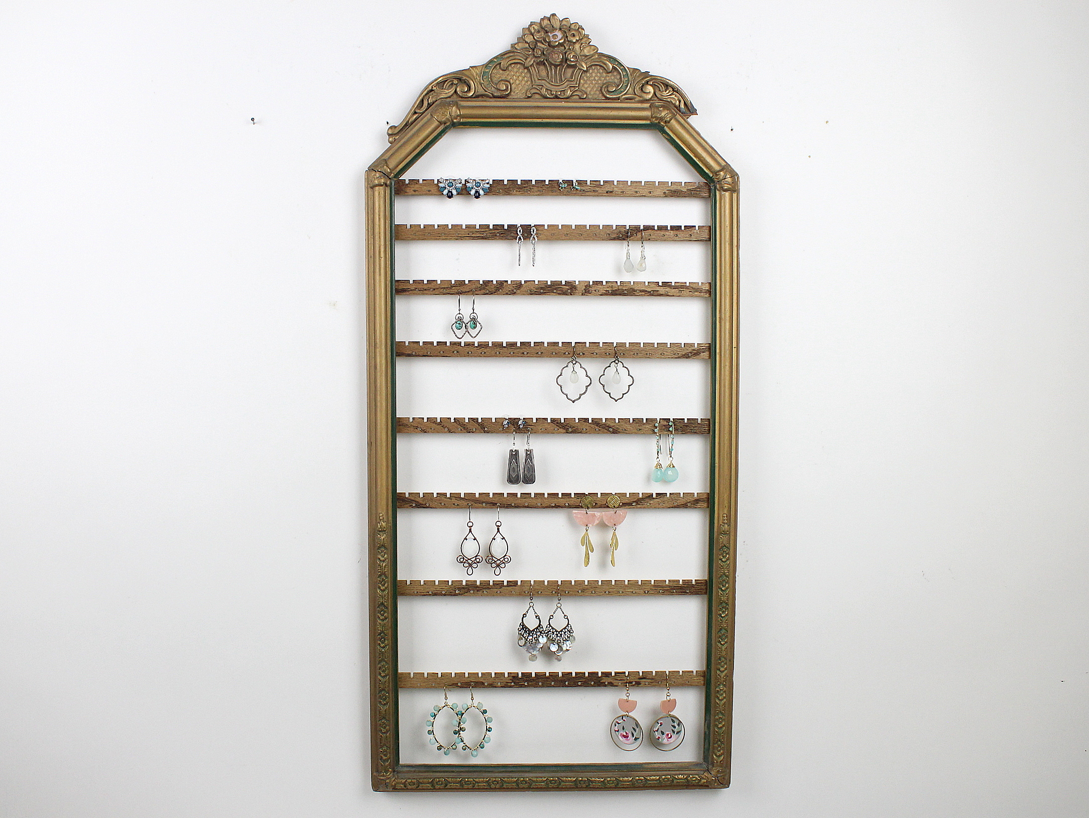 Antique French Arch Earring Frame
